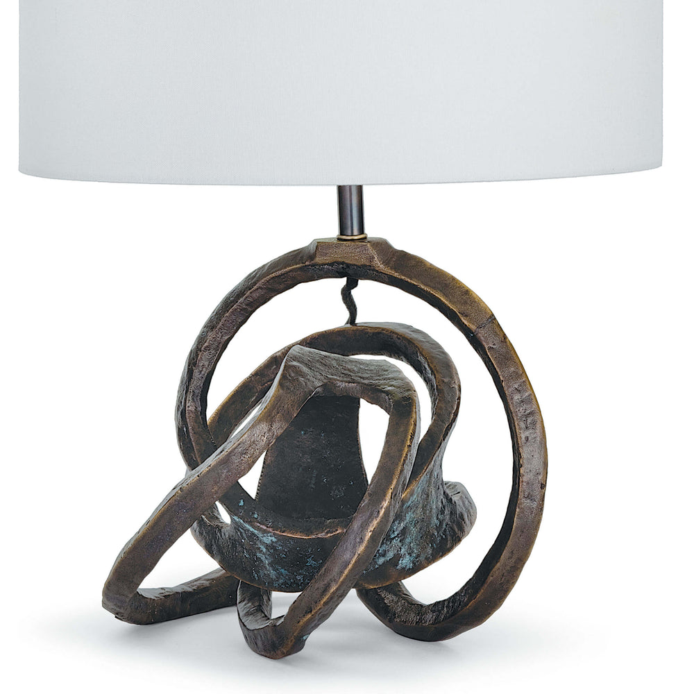 Knot Table Lamp - Amethyst Home