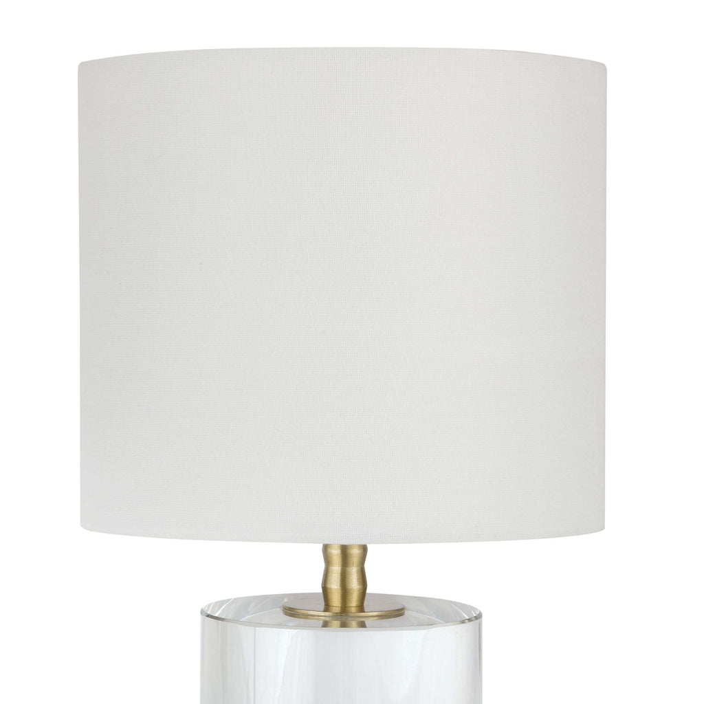 Juliet Crystal Small Table Lamp - Amethyst Home