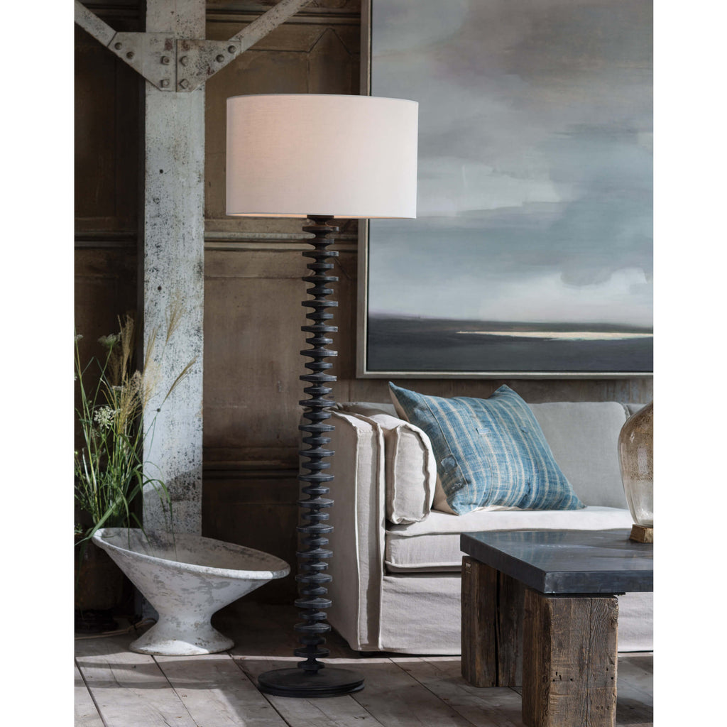 Fishbone Floor Lamp - Amethyst Home