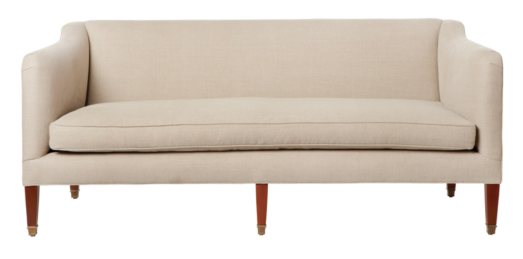cove sofa john derian mariet clay omaha nebraska amethyst home petite sofa modern one bench cushion 72""