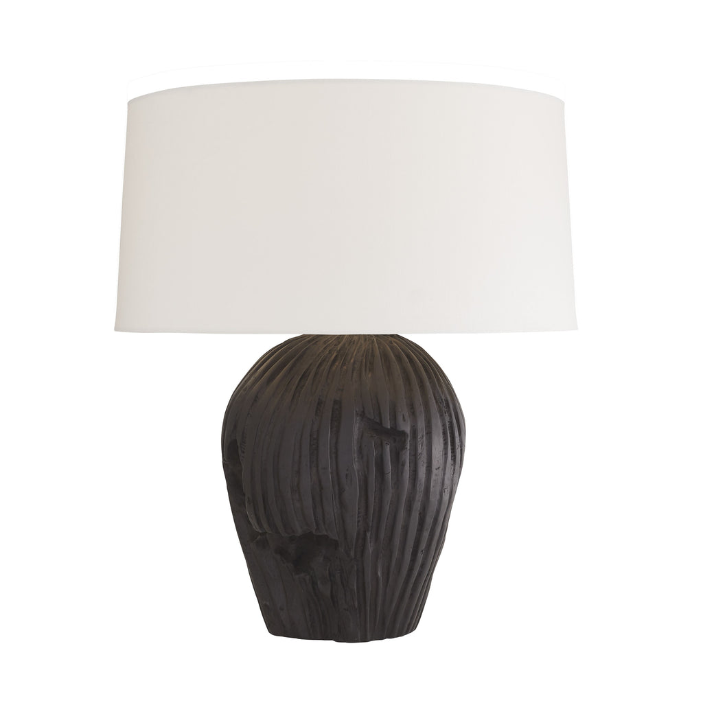 "We love the natural, earthy feel the teak root gives to the Ulani Lamp. This is unique, eye-catching lamp to add in any living room or bedroom.   Size: 20""d x 25""h Material: Teak Root"