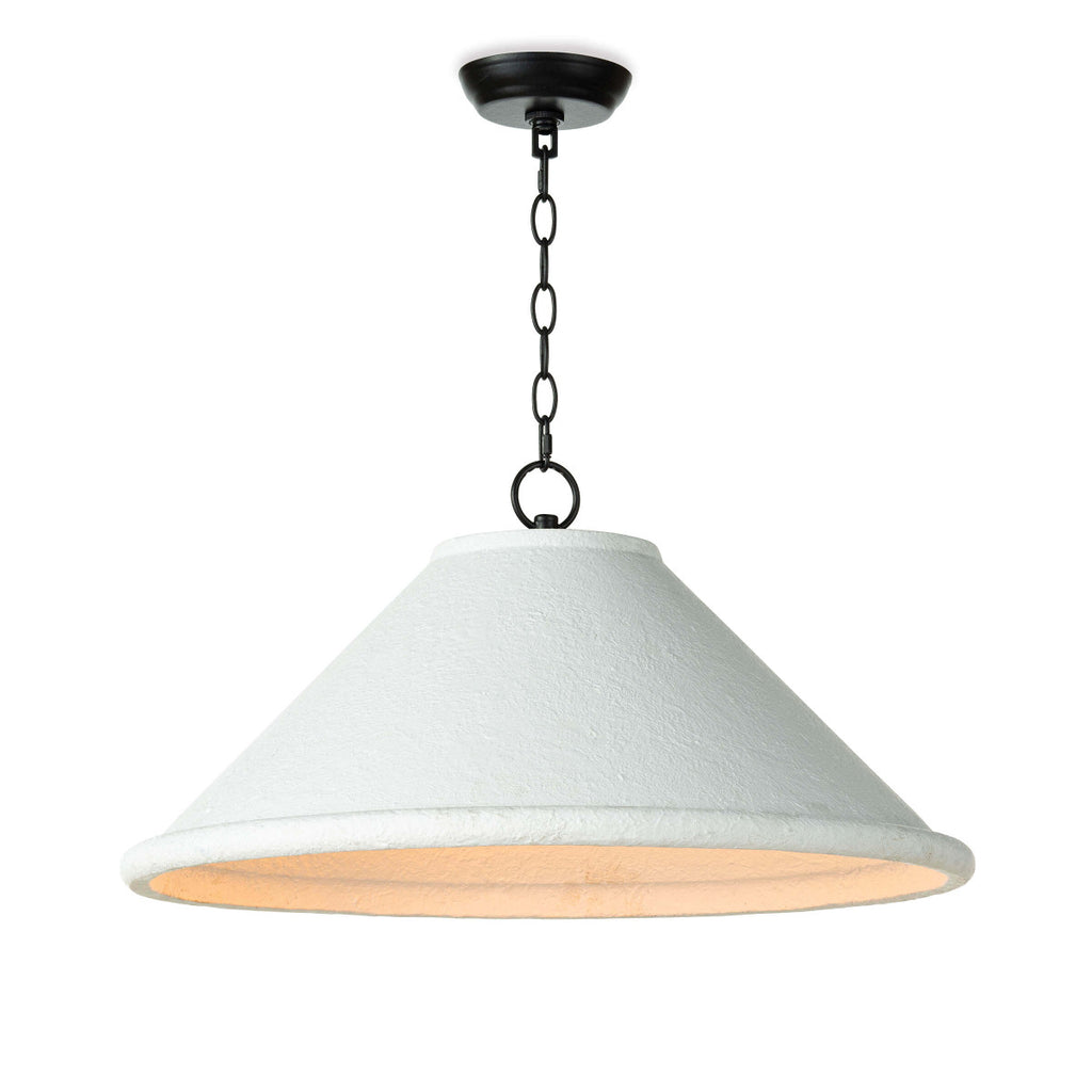 "We love the distinctive, rough texture of the Billie Large Concrete Pendant. It brings charm and illumination to a kitchen island or sink in a rustic farmhouse or a contemporary loft vibe.   Size: 25""w x 25""d x 16""h Material: Concrete"