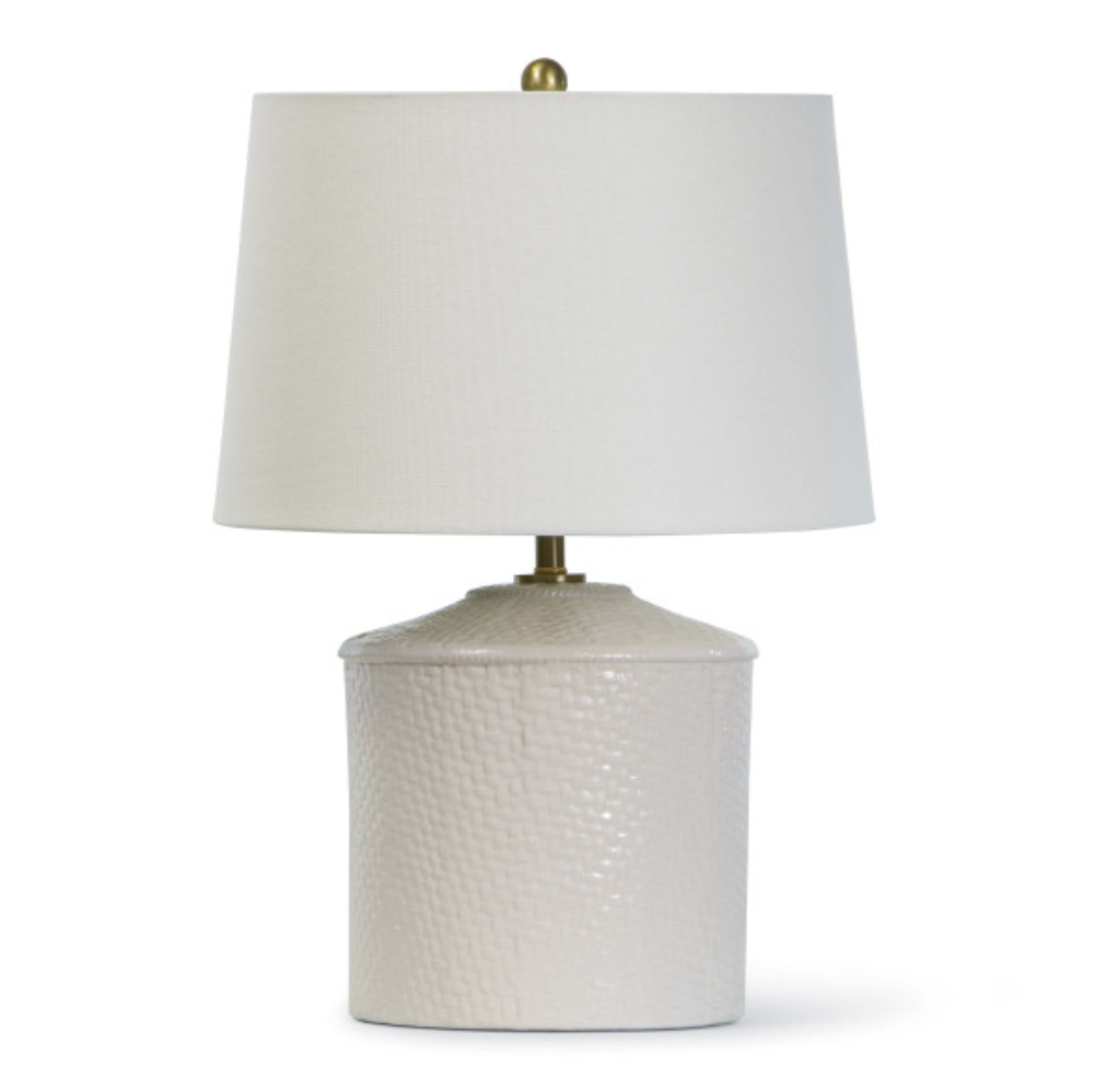 Panama Ceramic Table Lamp - Amethyst Home