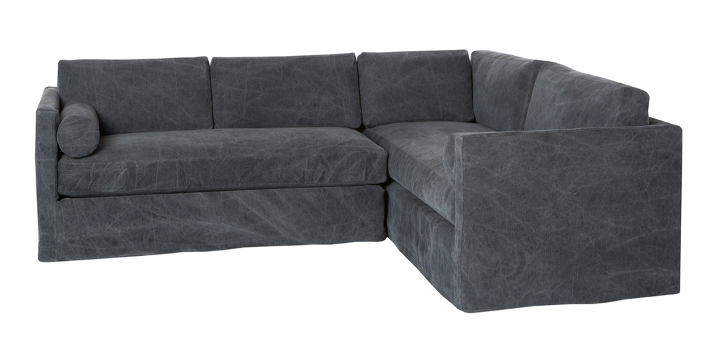 Aged Indigo Sectional