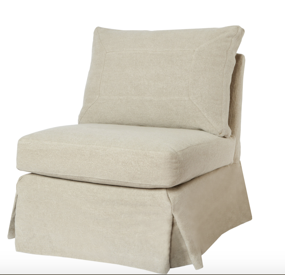 Seda Armless Chair-Essentials