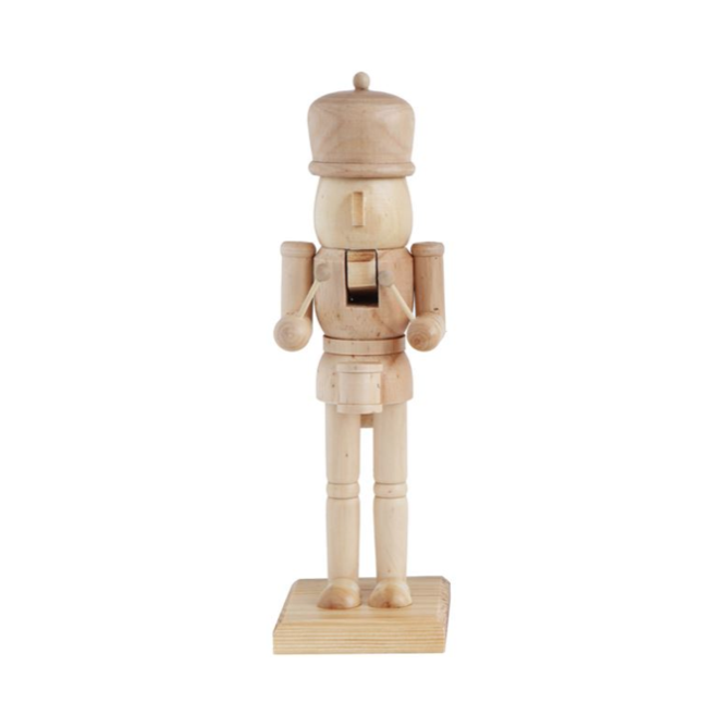 Simple Wooden Nutcracker - Style 1