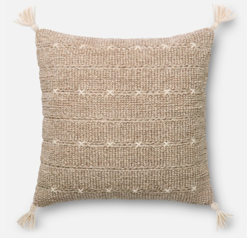 "Wool ""X"" Pillow"