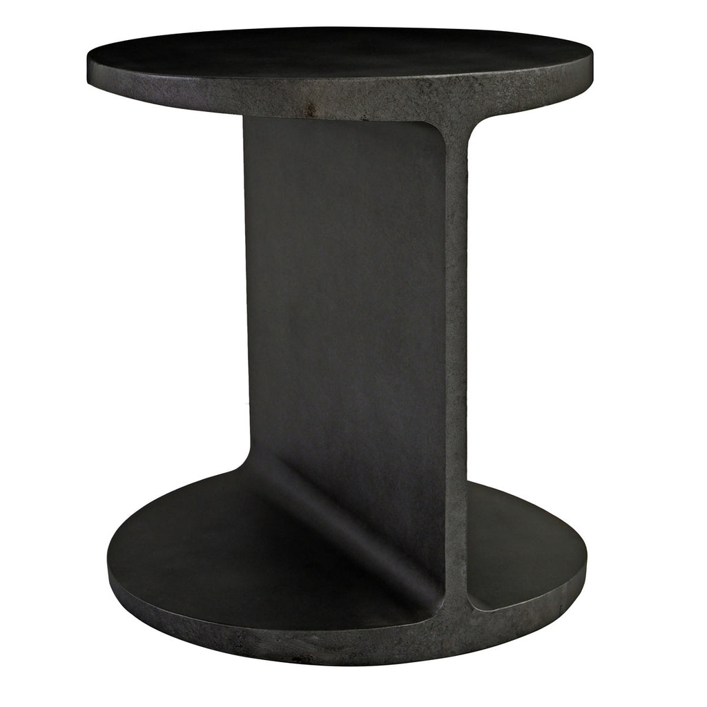 "We love the unique look this Cannon End Table brings to a living room. Complete the look with the Cannon Coffee Table.  Size: 20""w x 20""d x 22""h"