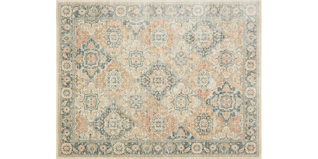 Trousdale Rug  - TX-04 ED MULTI/BLUE