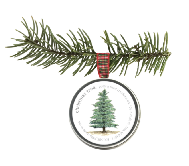 Yule Tree Holiday Ornament