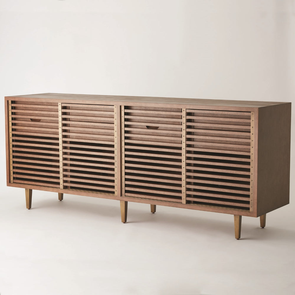Nelson Media Cabinet - Amethyst Home