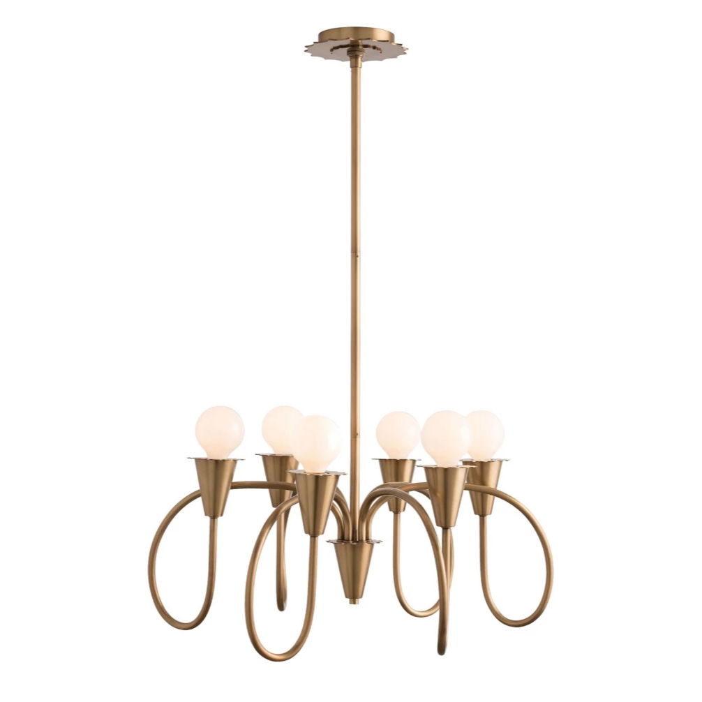 Garfield Chandelier - Amethyst Home