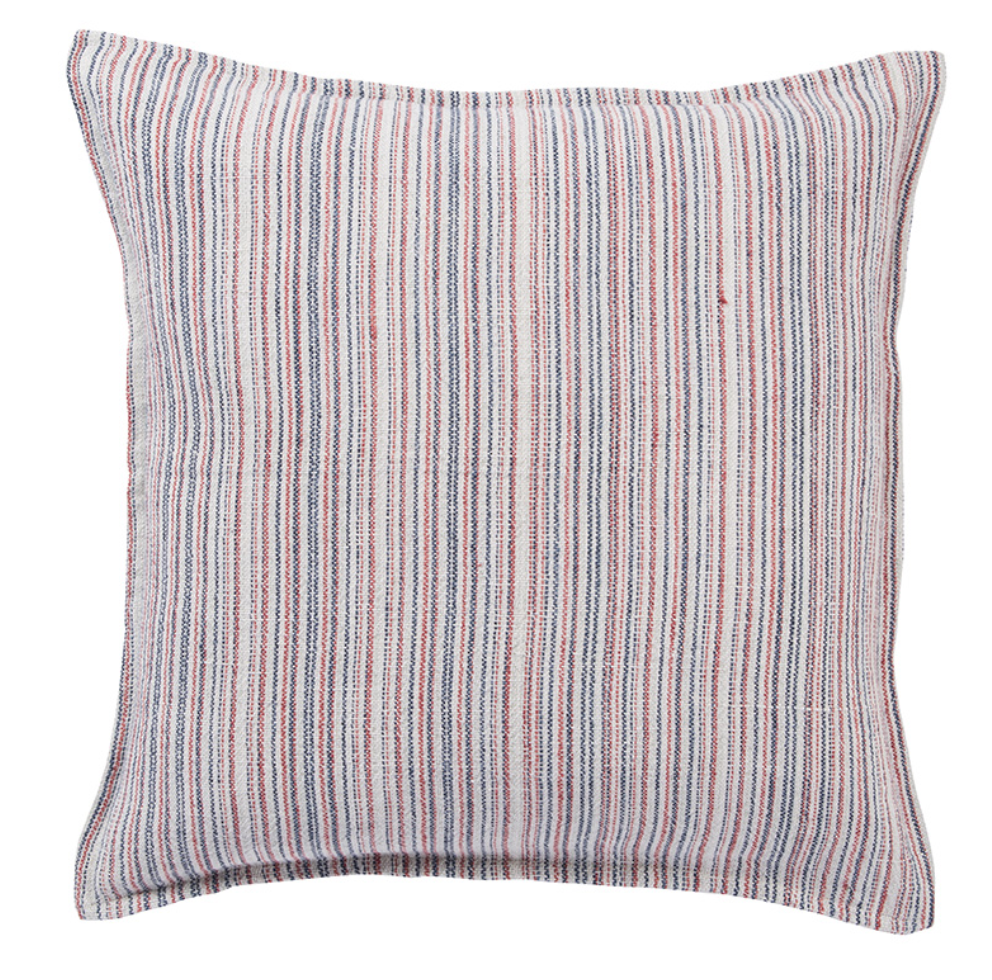 Burbank Striped Pillow - Amethyst Home