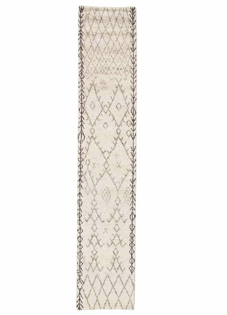 Undyed Moroccan Style Runner