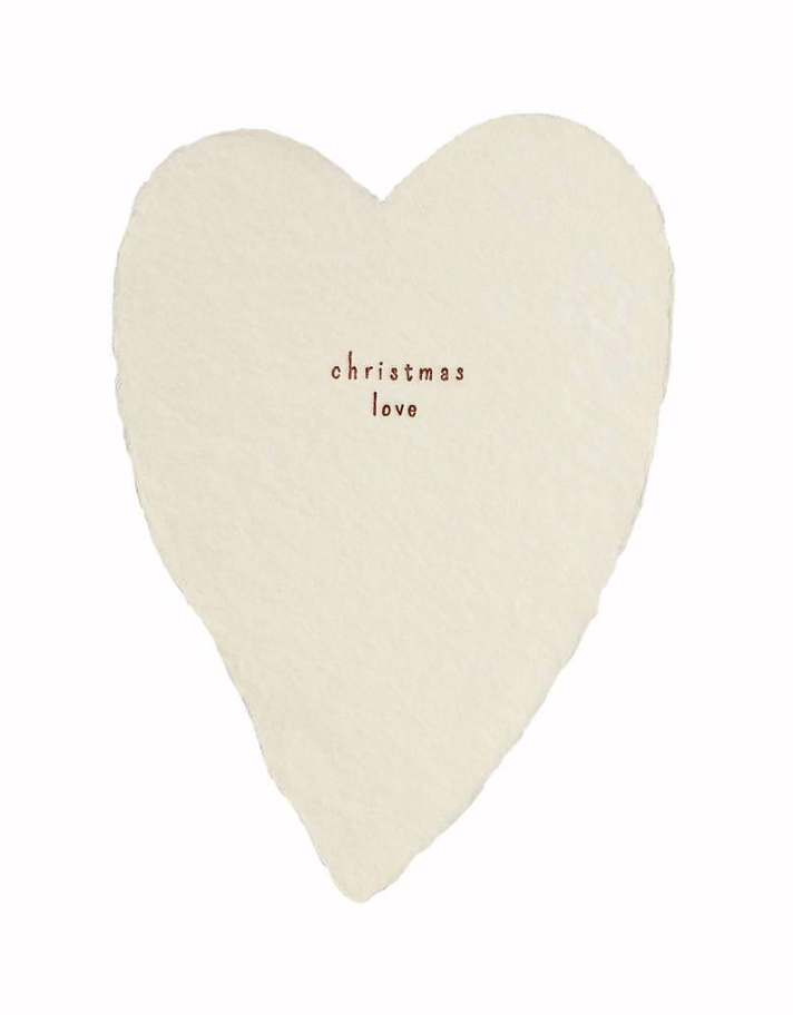 Christmas Love Cards - Set of 6