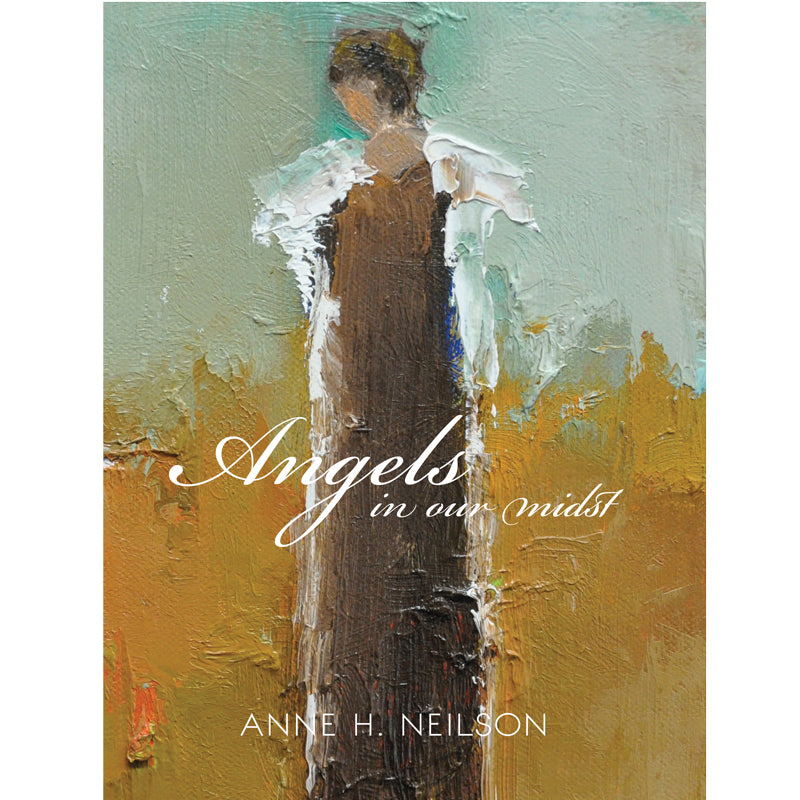 Angels In Our Midst is an inspirational coffee table book sharing the stories behind renowned artist Anne Neilson's journey with the Angel Series, which began in 2003. This book has sold over 30,000 copies and is a favorite with customers of refined home and gift shops throughout the country. Angels In Our Midst has yielded incredible stories of hope, encouragement and joy, transcending the pages and being shared again and again.