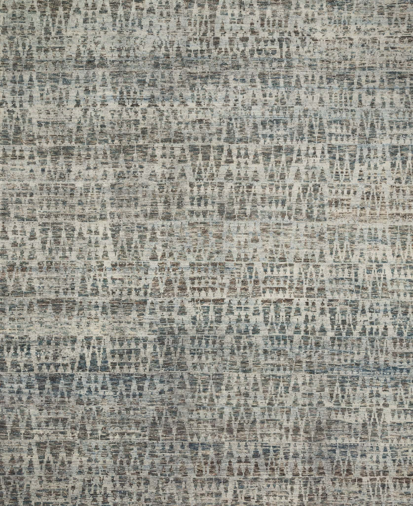 Hand-knotted in India of 100% wool, the Amara Collection creates a casual yet refined vibe with high-end appeal. Available in sizes up to 11'6'' x 15'.  Hand Knotted 100% Wool India AMM-07 Natural/Ocean