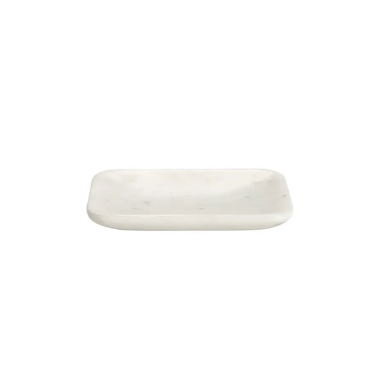 Belle de Provence Rounded Marble Soap Dish