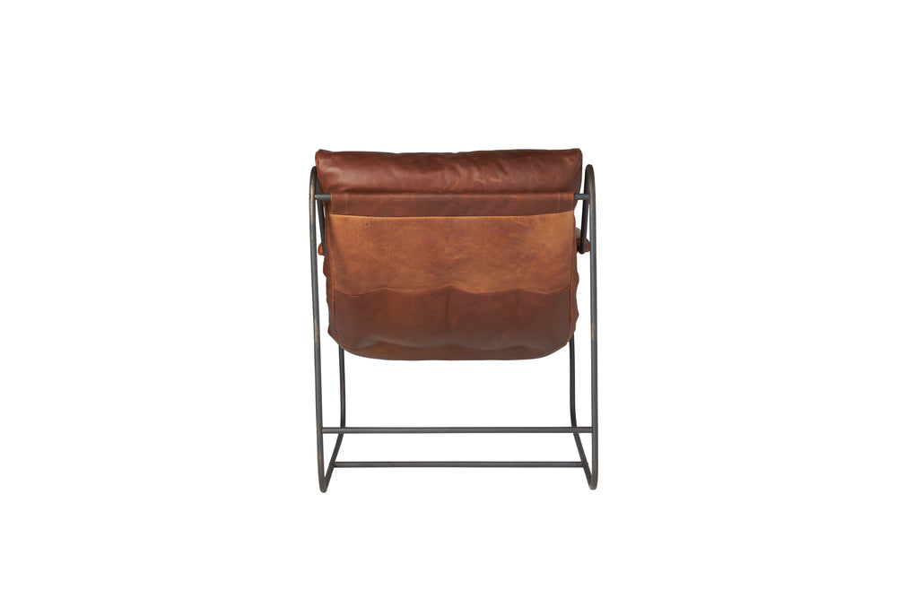 Brando Leather Chair - Amethyst Home