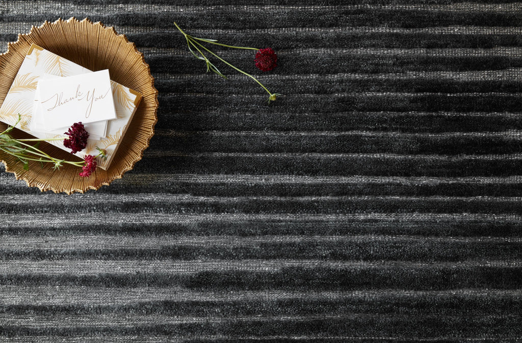 Expertly hand-knotted of wool and a touch of viscose from bamboo, the Cadence Collection touts versatile appeal with unparalleled depth and dimension. What's more, each piece is exceptionally durable-perfect for your busiest rooms.  Hand Knotted 100% Wool NZ-01 Charcoal