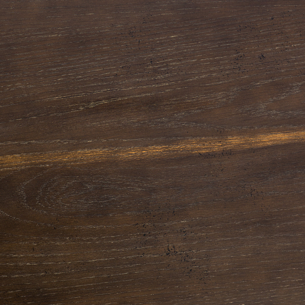 Powell Dining Table - English Brown Oak - Amethyst Home