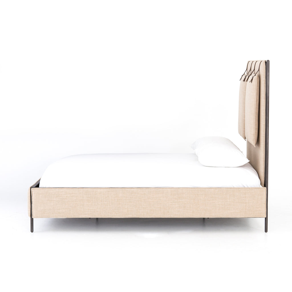 Leigh Upholstered Bed