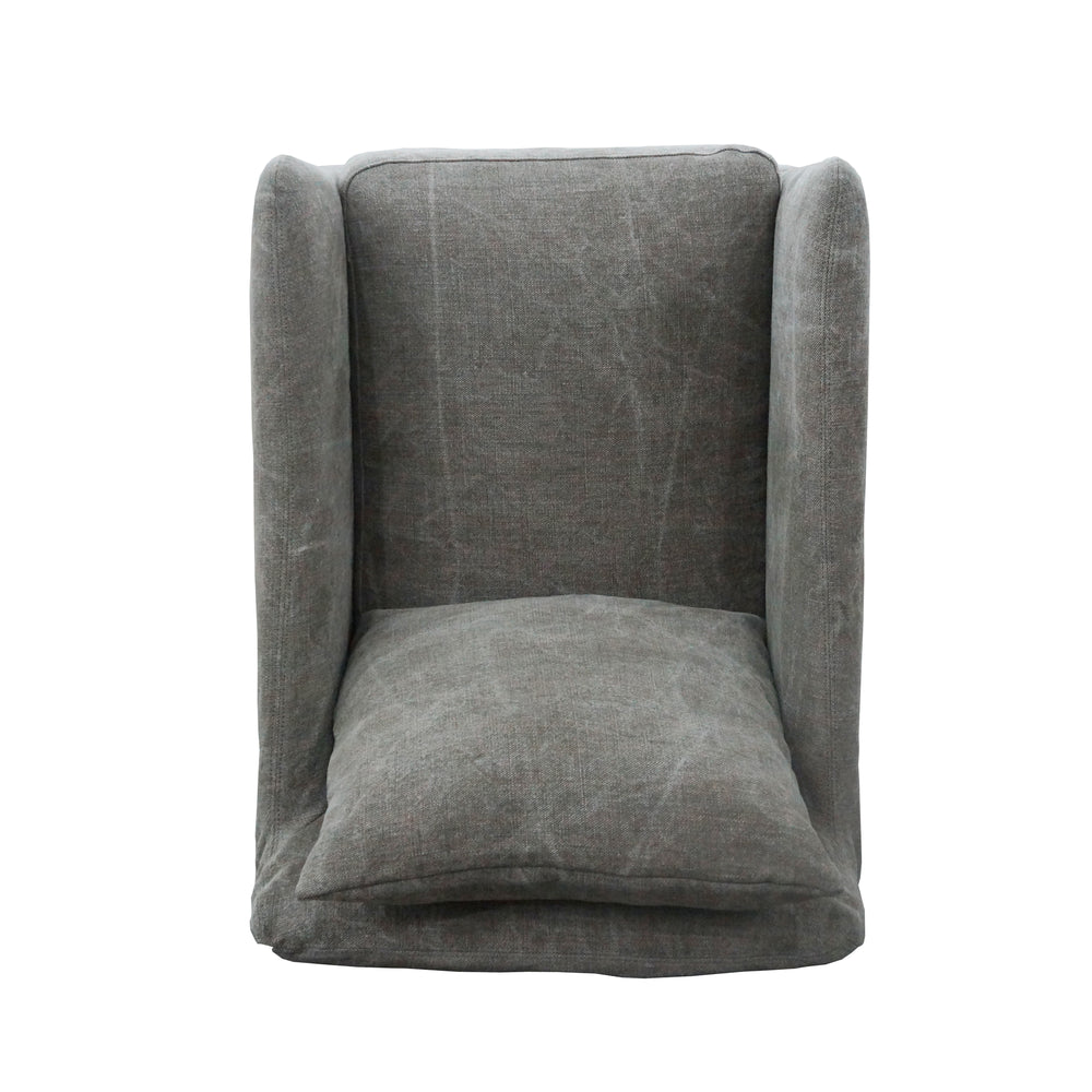 Banks Swivel Chair - Amethyst Home