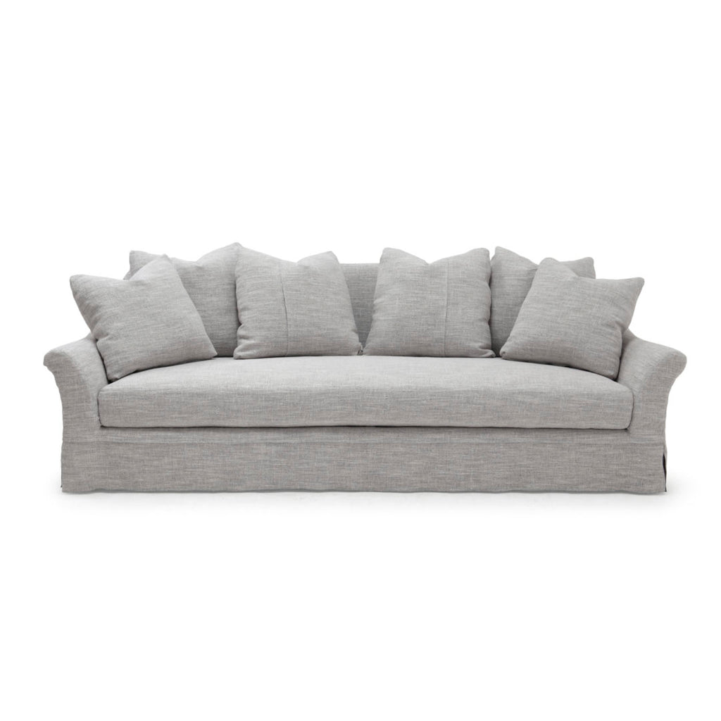 The Camille Sofa Family by Verellen is a modern, timeless classic made to last. Each Camille is bench-crafted with a sustainably harvested hardwood frame and 8-way hand-tied seat construction making it cozy, comfortable, and perfect for families and pets. This sofa was featured with Kendall Jenner by Arch Digest.