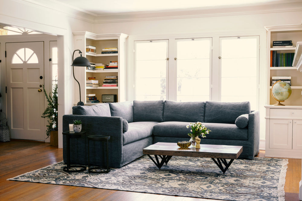 Aged Indigo Vista Sectional