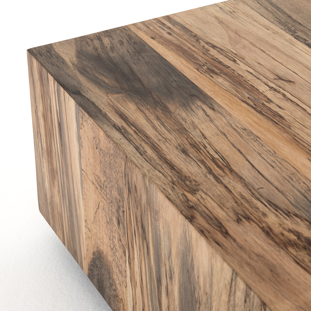 Hudson Spalted Primavera Square Coffee Table