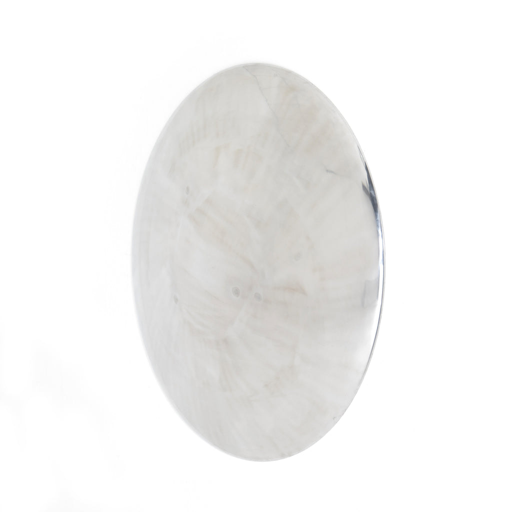 "This Joetta Convex Wall Panel is a high-polish aluminum mirror that bring an antique feel to any wall.   Overall Dimensions: 33.00""w x 5.50""d x 33.00""h Colors: Polished Aluminum Materials: Aluminum  Please allow 3-4 weeks on shipment for these items."