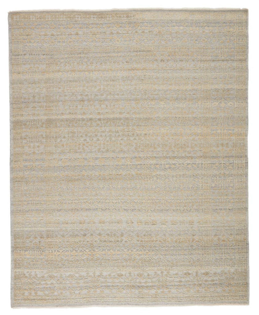 The hand-knotted Gaia Arinna Area Rug by Jaipur Living, or GAI04, features a neutral gray, cream, and light beige colorway for a soft, serene look. The space-dyed effect of the wool and viscose yarns lends a one-of-a-kind quality. A gorgeous choice for your living room, bedroom, or other medium traffic area.