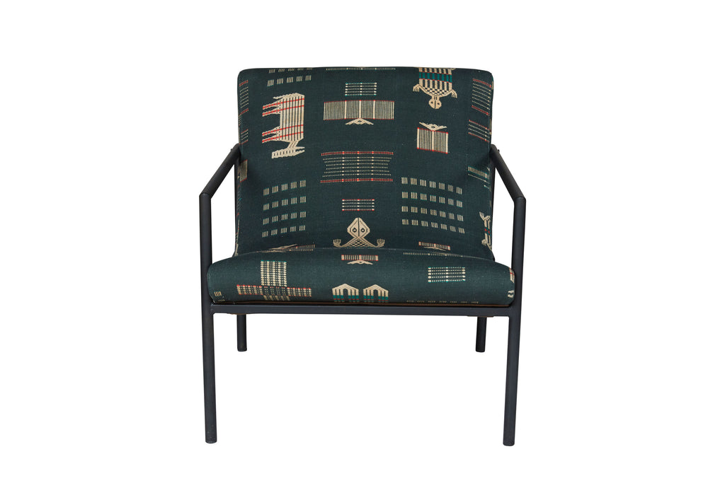 The laid back Griffin Leather Chair from Cisco Brothers is always a favorite seat in the room. This chair is an instant classic from Cisco Brothers that we loved sitting in at market. The photographs capture the chair in a Ojai Black fabric and the lifesytyle shot features the chair in the Lan Oatmeal fabric.