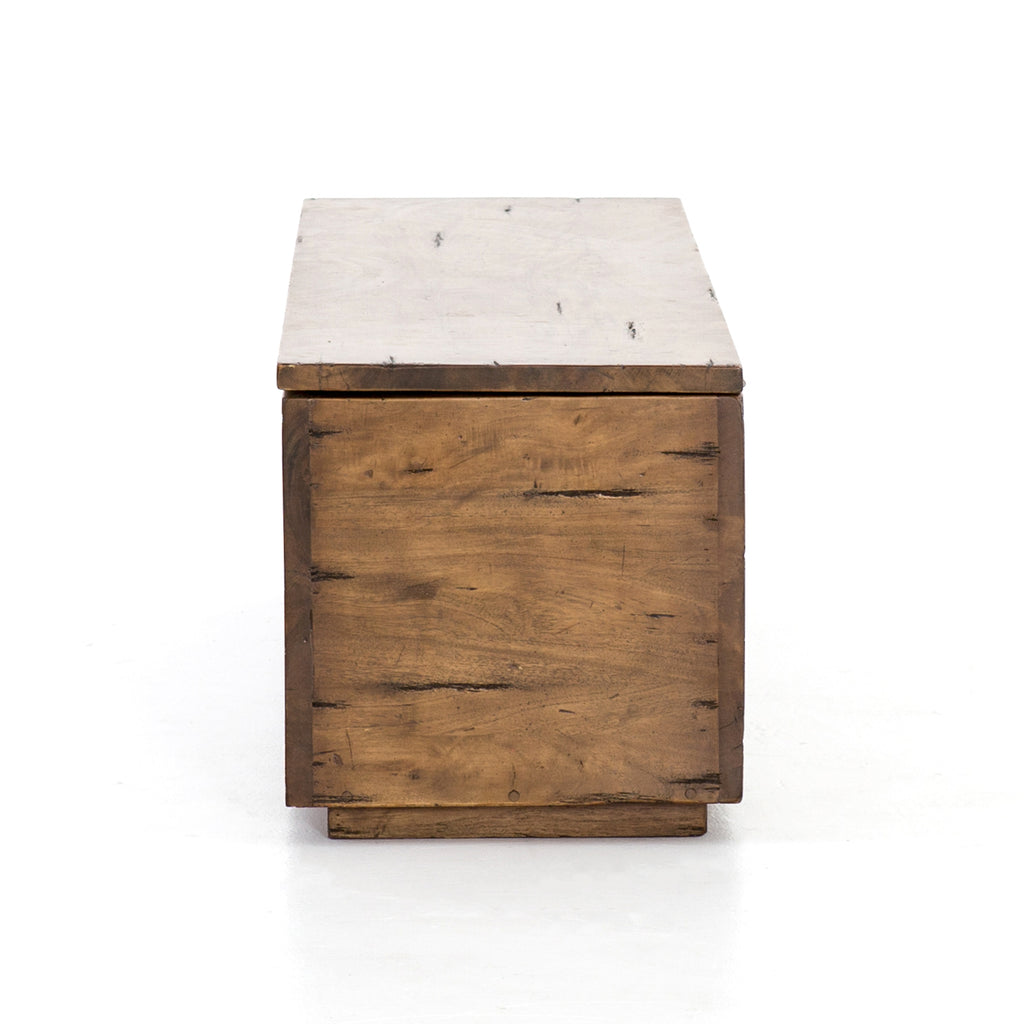 Duncan Reclaimed Fruitwood Trunk