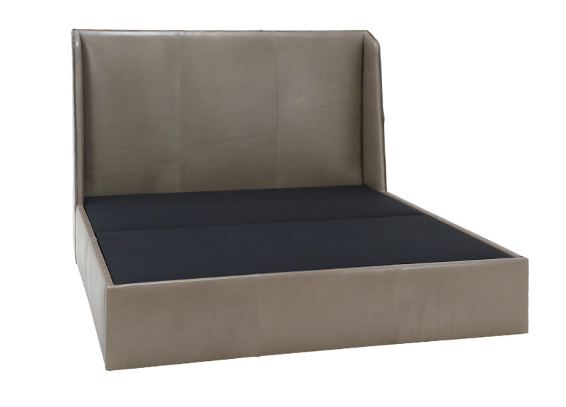 The modern Ivy Bed by Verellen has a gorgeous dual arched inside out stitch with a bar track detail on the headboard. This comfy bed features:  double needle stitch detail sits on glides not used with a box spring available slipcovered or upholstered Available in twin, full, queen, king, and California king mattresses.