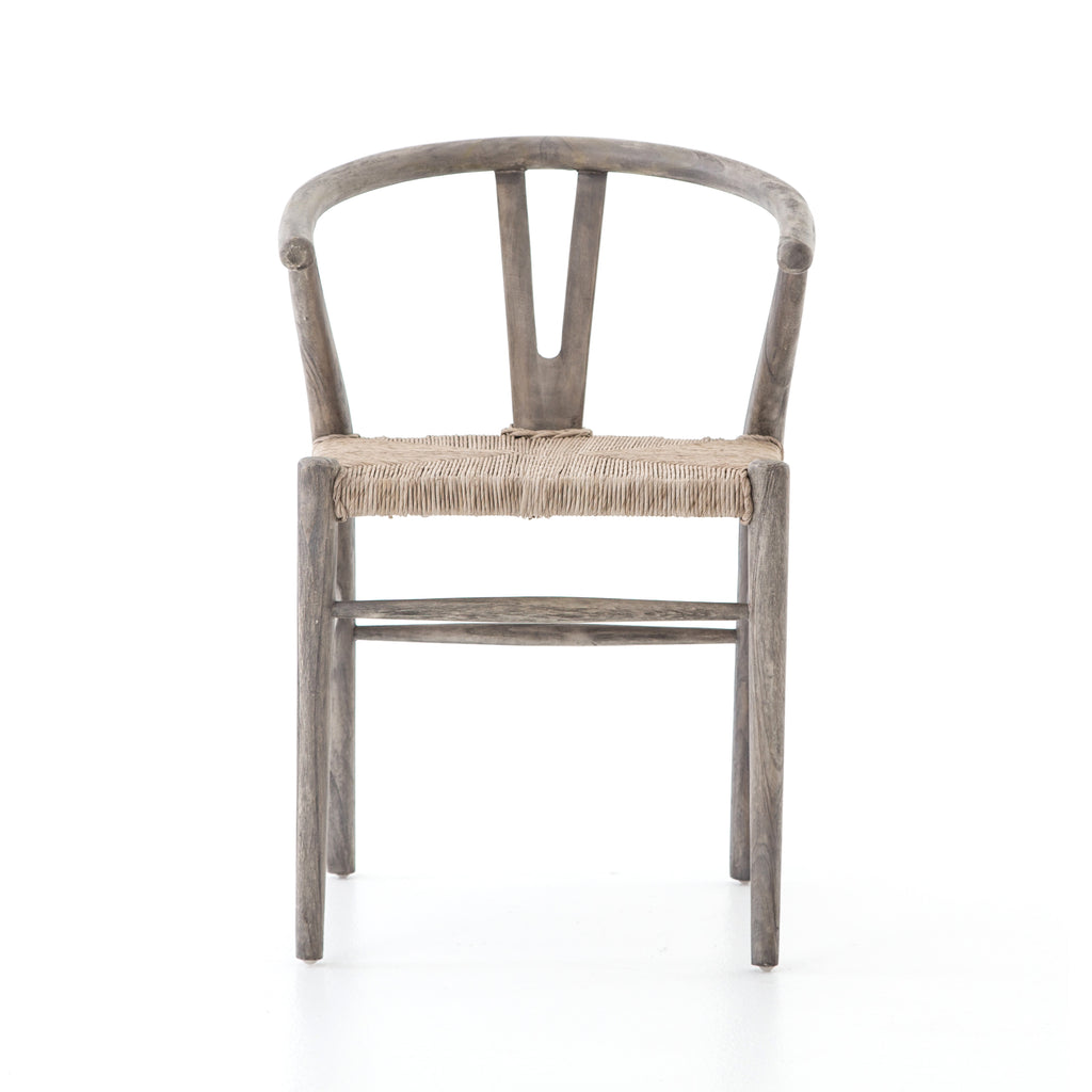 Muestra Dining Chair - Weathered Teak Grey - Amethyst Home