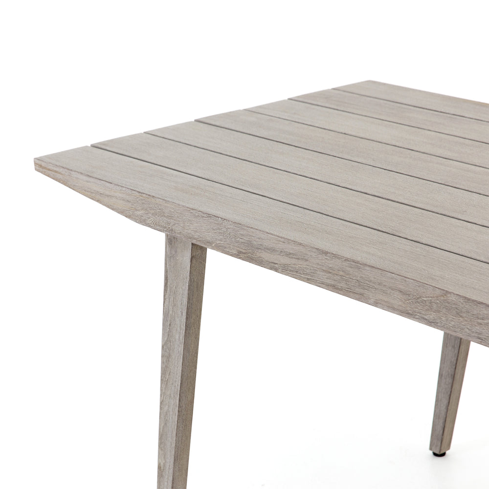 Hansen Outdoor Tapered Dining Table - Grey - Amethyst Home