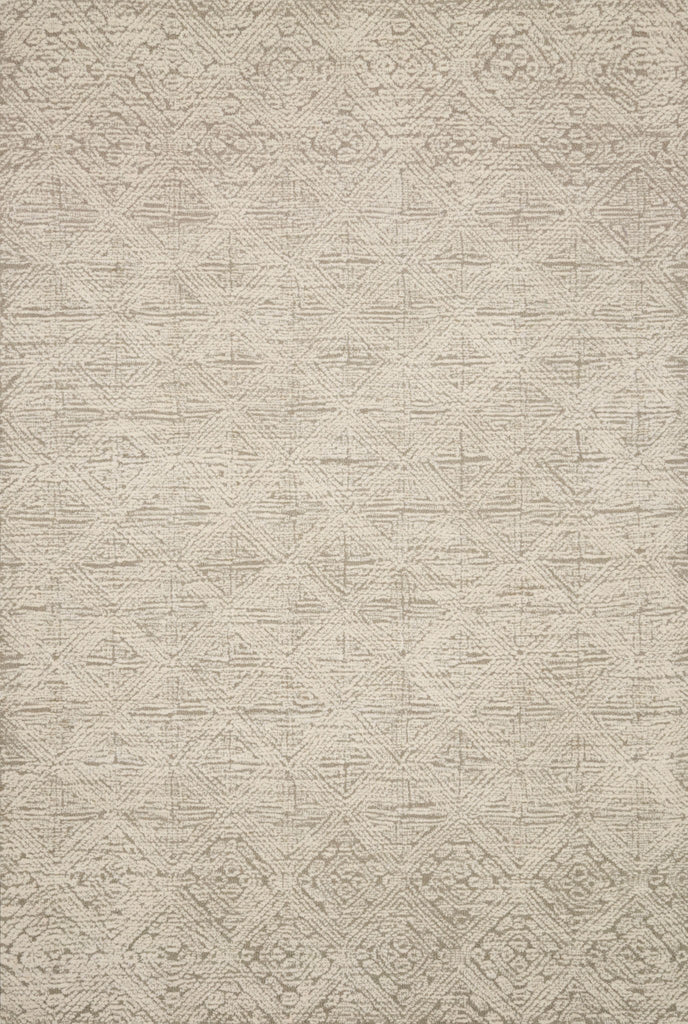 With stunning and delicate linear patterns, the Kopa Collection provides an energetic and fresh canvas for a low profile, long-lasting 100% wool rug. Each design is hand-tufted by skilled artisans in India. Crafted by Loloi for ED Ellen DeGeneres.  Hand Tufted 100% Wool India KO-03 ED Taupe/Ivory