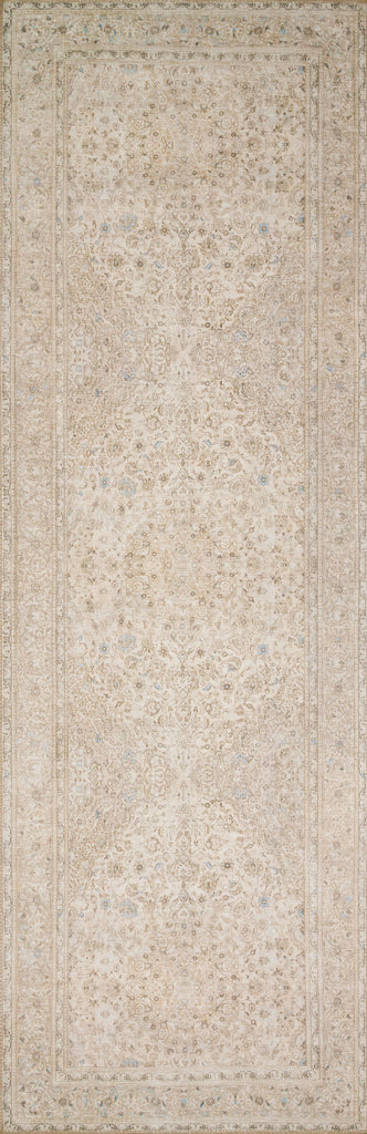 Timeless and classic, the Loren Collection offers vintage hand-knotted looks at an affordable price. Created in Turkey using the most advanced rug-making technology, these printed designs provide a textured effect by portraying every single individual knot on a soft polyester base.  Power Loomed 100% Polyester LQ-03 Sand/Taupe