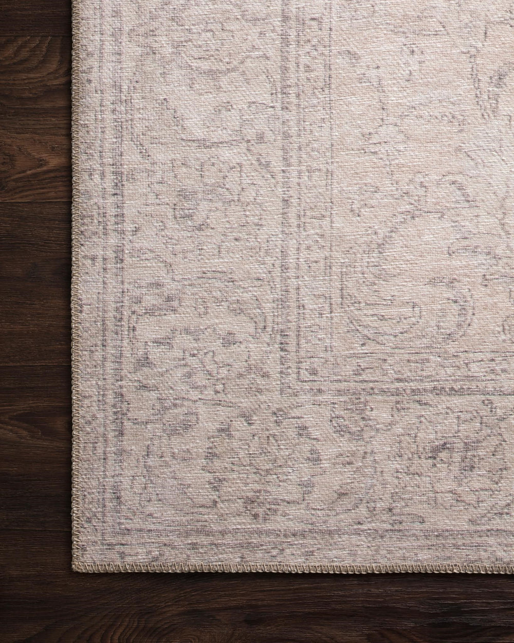 Timeless and classic, the Loren Collection offers vintage hand-knotted looks at an affordable price. Created in Turkey using the most advanced rug-making technology, these printed designs provide a textured effect by portraying every single individual knot on a soft polyester base.  Power Loomed 100% Polyester LQ-12 Sand