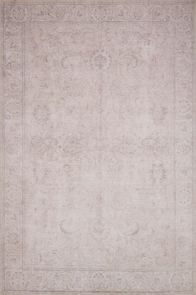 Loren Sand Rug - Amethyst Home Timeless and classic, the Loren Collection offers vintage hand-knotted looks at an affordable price. Created in Turkey using the most advanced rug-making technology, these printed designs provide a textured effect by portraying every single individual knot on a soft polyester base.
