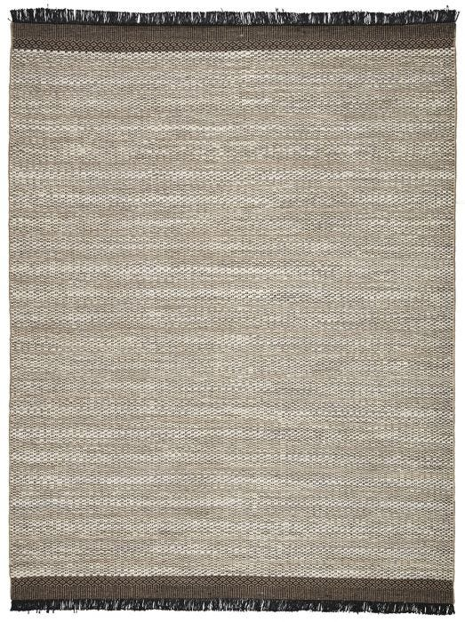 The Mosaic collection grounds contemporary homes with a charming bohemian style and natural texture. The Saanvi area rug features a black border of geometric details, chic fringe, and a versatile, bleached jute weave for an entirely global-inspired look.  Handwoven  100% Jute MOS02 Mosaic Saanvi Rug