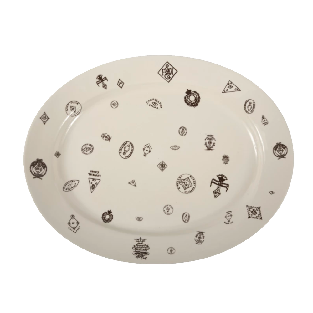 Makers' Marks Grand Platter - Amethyst Home