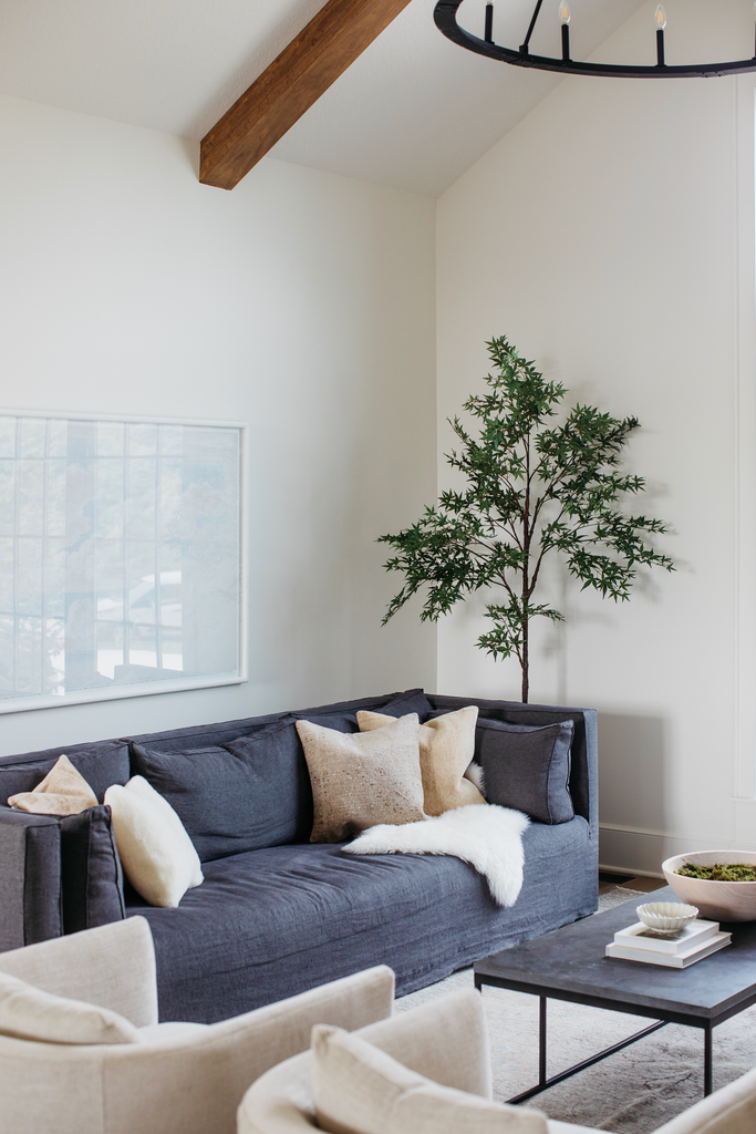A natural wonder is found with this Maple Tree in Pot. So realistic in form and color- you'll look twice to see if they're real. This tree is gorgeous, has branches that are easy to articulate, and great to pop into any room.