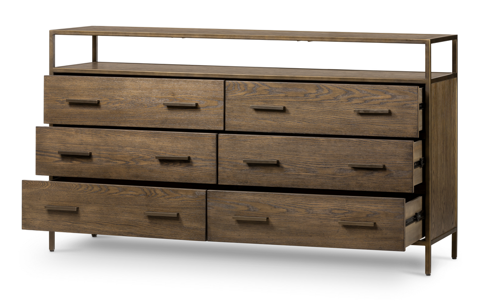 Mason 6 Drawer Dresser - Amethyst Home