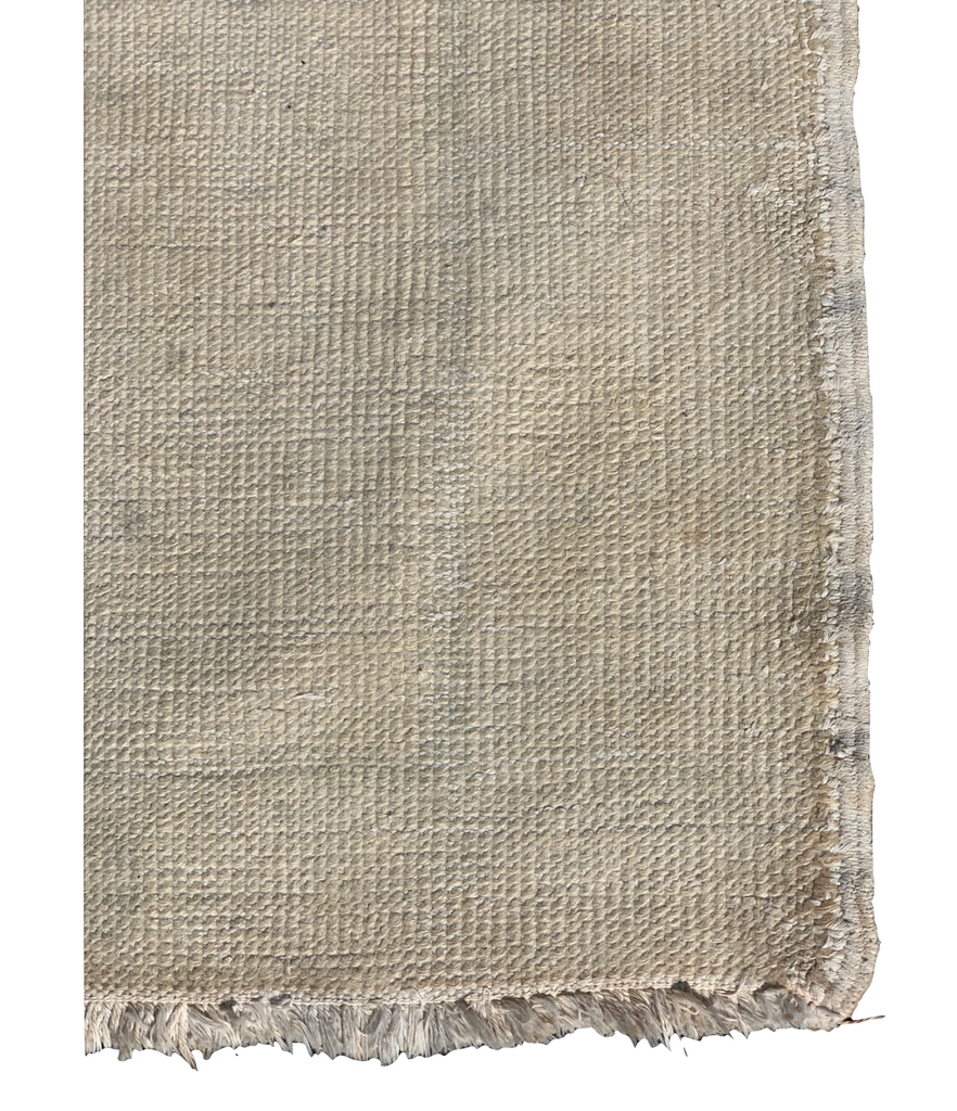 "The Mia Rug is a limited edition 3'9"" x 6 vintage Turkish Anatolian rug, made of 100% soft, natural wool. Light shedding as this rug is a low pile, hand-knotted, and made with the finest materials and craftsmanship.  3'9"" x 6'0"" Hand-Knotted        100% Wool"