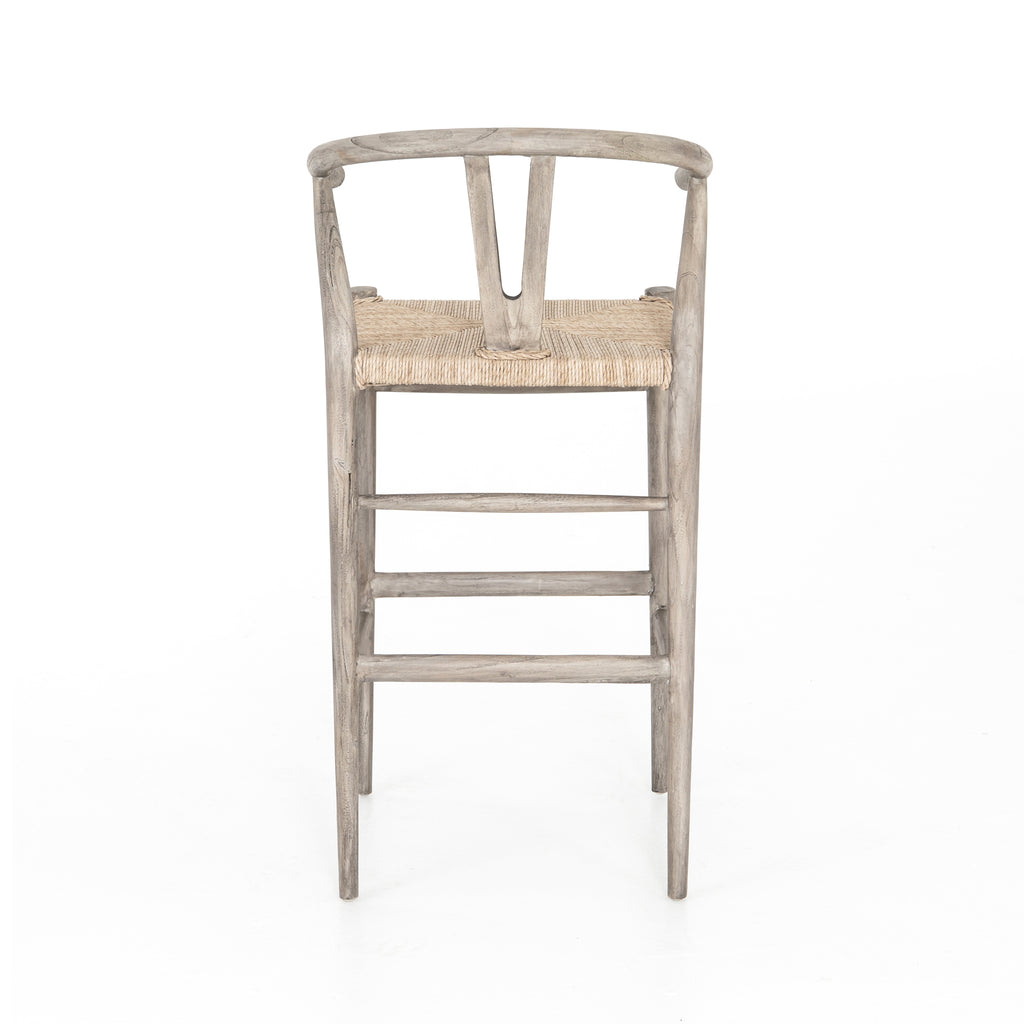 Muestra Weathered Grey Counter + Bar Stool
