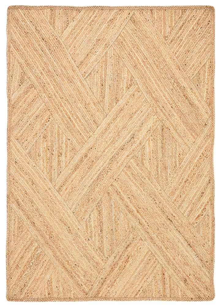 The Naturals Tobago collection delivers rich texture and organic allure to contemporary homes. The Vero area rug showcases a distinctive diagonal weave design, hand woven of jute. The warm colorway of this stunning natural lends a grounding, boho vibe to any space.  Naturals Construction 100% Jute NAT36