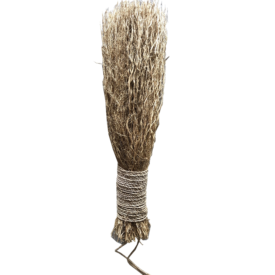 Natural Broom - Amethyst Home