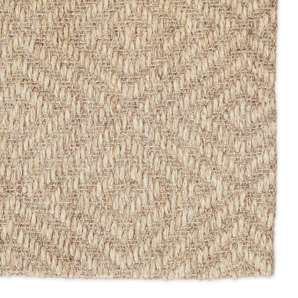 The Jaipur Living Naturals Tobago Tampa Area Rug, or NAT07, has a natural charm and effortless casual style. In a light gray hue, this natural accent's diamond lattice weave creates unique geometric dimension.